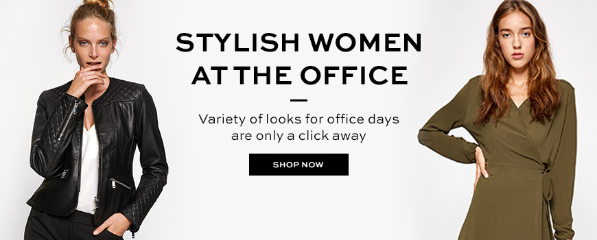 Stylish Women at the Office